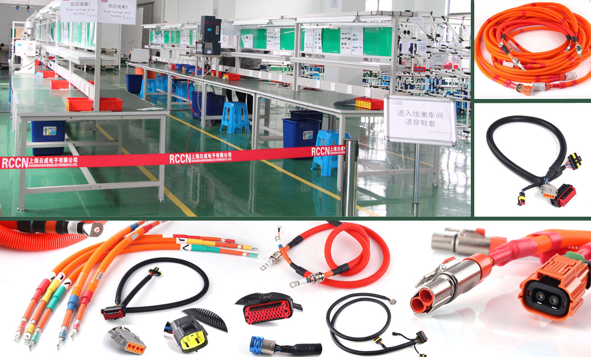 Automotive wiring harness assembly and sealing operation guidance