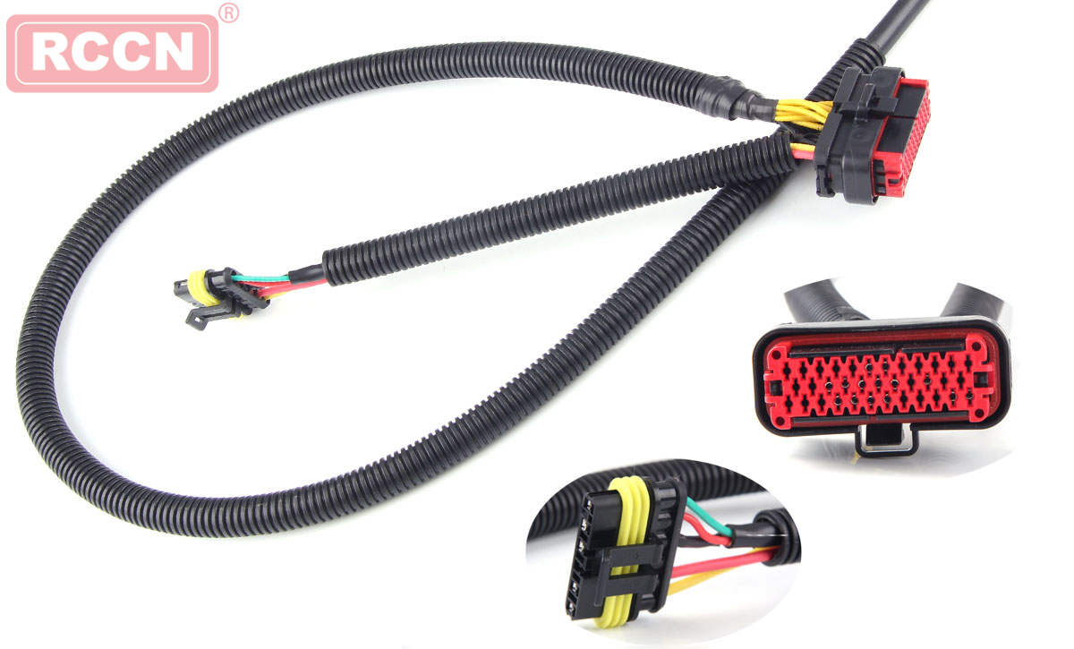 Automotive wiring harness assembly and sealing operation