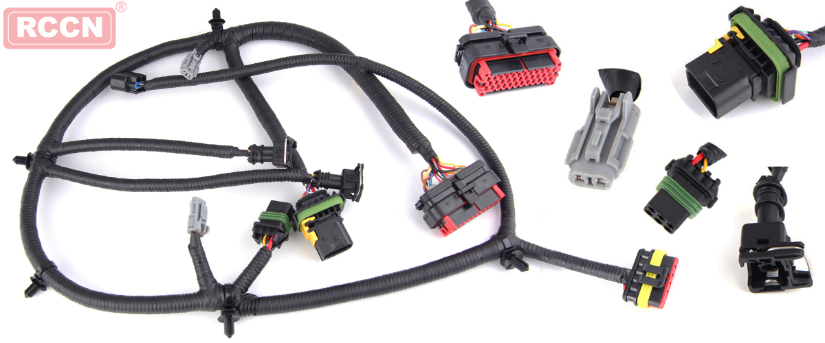 car wiring harness installation note points industria informazioni rh en rccn com cn Wire Harness Cover Bus with Dimmer Switch Wire Harness