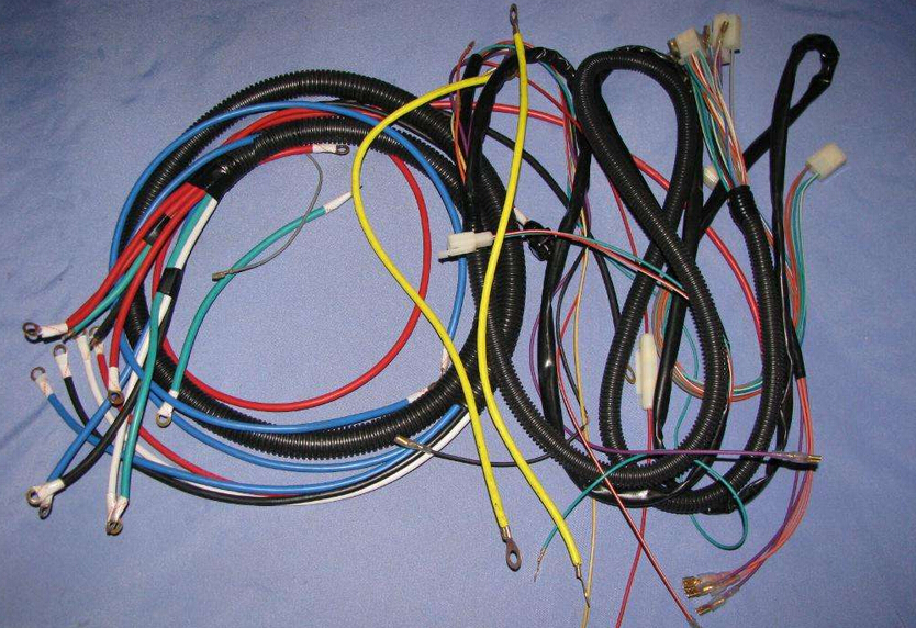 Automotive wiring harness and ordinary wiring difference ... on