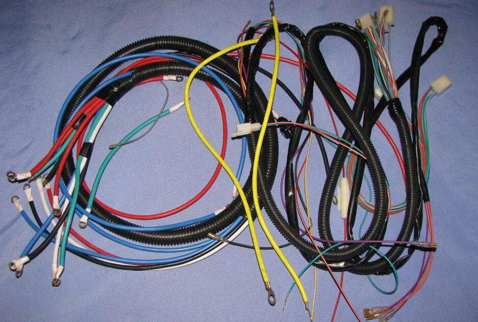 Replacement Of Automotive Wiring Harness Assembly Industria